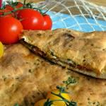 Nadziewany włoski chlebek na ricottcie