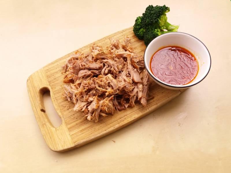 Szarpana wieprzowina, czyli pulled pork
