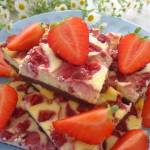 Cheesecake z truskawkami (Cheesecake con fragole)