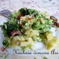 Sałatka brokułowa z ziemniakami