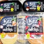 A'la sery i serki Bez deka mleka, czyli roślinne nowości od OSM Łowicz