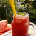 Arbuzowa lemoniada wg Aleex