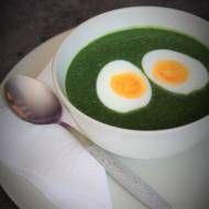 Keto krem ze szpinaku z jajem (Paleo, LowCarb)