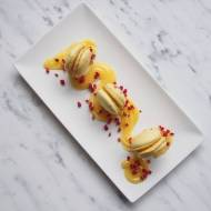 Makaroniki z lemon curd