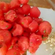 Wykwintna sałatka z arbuza