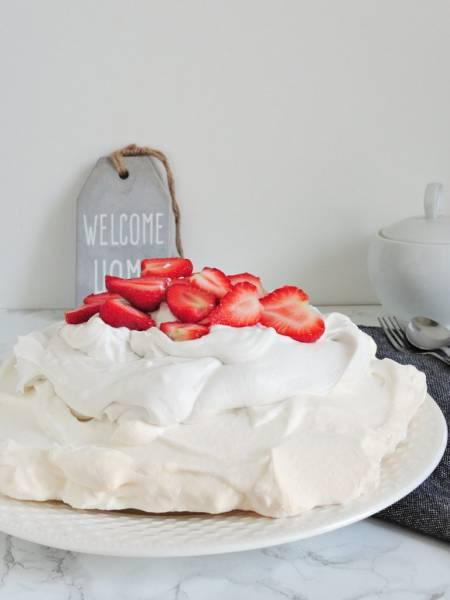 Wegański Tort Pavlova