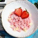 Ryż z truskawkami i mascarpone