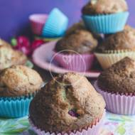 Puszyste muffiny orzechowe