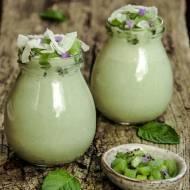 Jogurt (kokosowy) z matcha