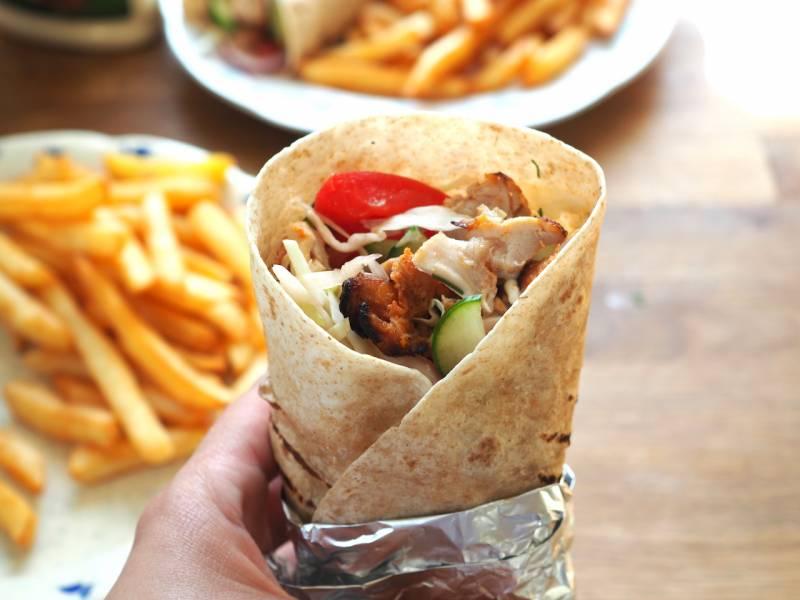 Domowy kebab. Przepis krok po kroku.