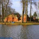 Ruiny zamku Wężyków w Wojsławicach woj. łódzkie
