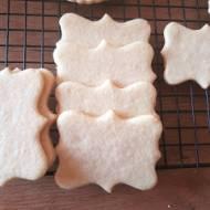 Kruche ciasteczka do dekoracji