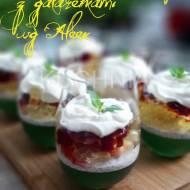 Letni deser owocowy z galaretkami wg Aleex