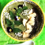 Green Smothie z szpinakiem i mąką konopną