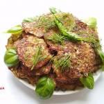 Placuszki cukiniowo-ziemniaczane