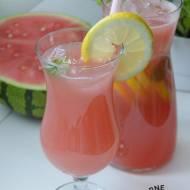 Lemoniada arbuzowa orzeźwiająca