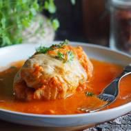 Gołąbki w sosie pomidorowym / Stuffed cabbage rolls with tomato sauce