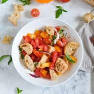 Panzanella - czyli toskańska sałatka z chleba i pomidorów