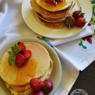 Pyszne amerykańskie śniadanie - pancakes (PANKEJKI)