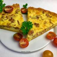 Tarta jajeczna z kurkami