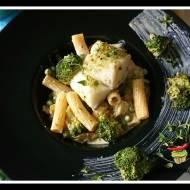 Sos śmietanowy z brokułem i rybą