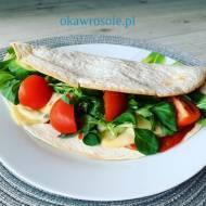 Tortilla z sosem meksykańskim