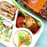 Zdrowy i syty lunch mix. Propozycja na danie w pudełku.