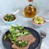 Stek z sosem chimi churri