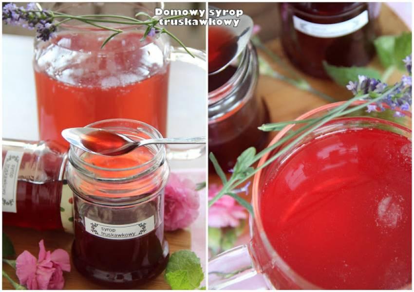 Domowy syrop truskawkowy (i konfitura truskawkowa)