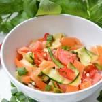 Sałatka z cukinii i marchewki