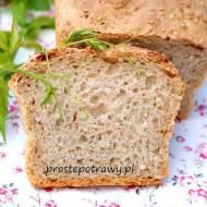 Chleb na wodzie z ogórków kiszonych