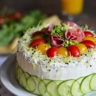 Tort tostowy poprzeczny (z piekarnika)