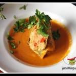 Gołąbki w sosie paprykowym