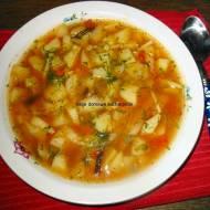 Krupnik pomidorowy z grzybami mun