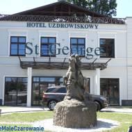Hotel St. George Family & Spa w Ciechocinku - pomnik św. Jerzego woj. kujawsko - pomorskie