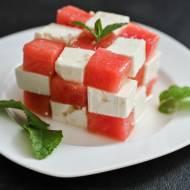 Sałatka z fetą i arbuzem