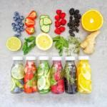 Wody smakowe - 6 przepisów (Acqua aromatizzata - 6 ricette)