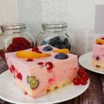 Ciasto jogurtowe na gofrach