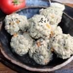 Pulpeciki z indyka z czarnuszką, kaszą manną i warzywami (bez jajek)