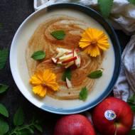 Chłodnik jabłkowy z cynamonem