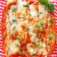 """Lasagne """"parmigiana"""" z bakłażanem (Lasagne con melanzane)"""