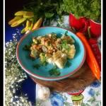 Brokułowa sałatka z dorszem