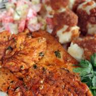 Kurczak (filet) z patelni