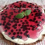 Tarta i tartaletki z borówkami