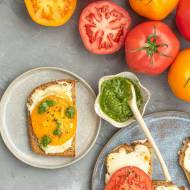 Tosty z serem i pomidorem
