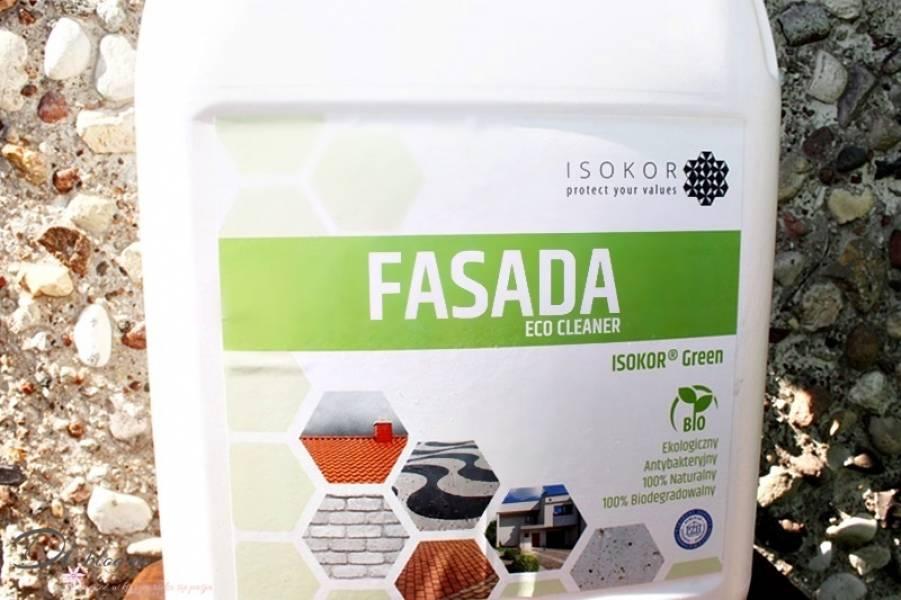 Isokor Cleaner Fasada, czyli ekologiczny środek do mycia elewacji budynków i nie tylko - recenzja