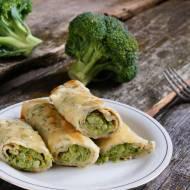 Naleśniki z brokułami