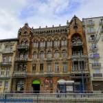 Zabytkowa kamienica przy ul. Narutowicza w Łodzi - kamienica Auerbachów
