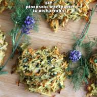 Fit placuszki warzywne (z piekarnika)