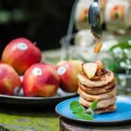 Racuchy na maślance z karmelizowanymi jabłkami